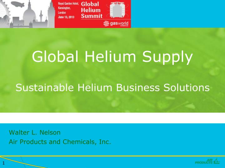 global helium supply sustainable helium business solutions n.