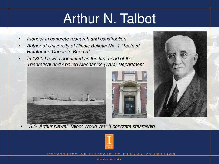 Arthur N. Talbot