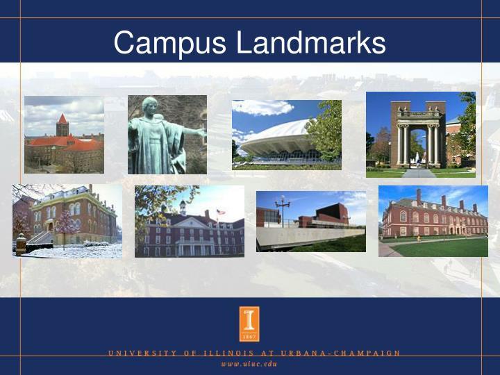 Campus Landmarks