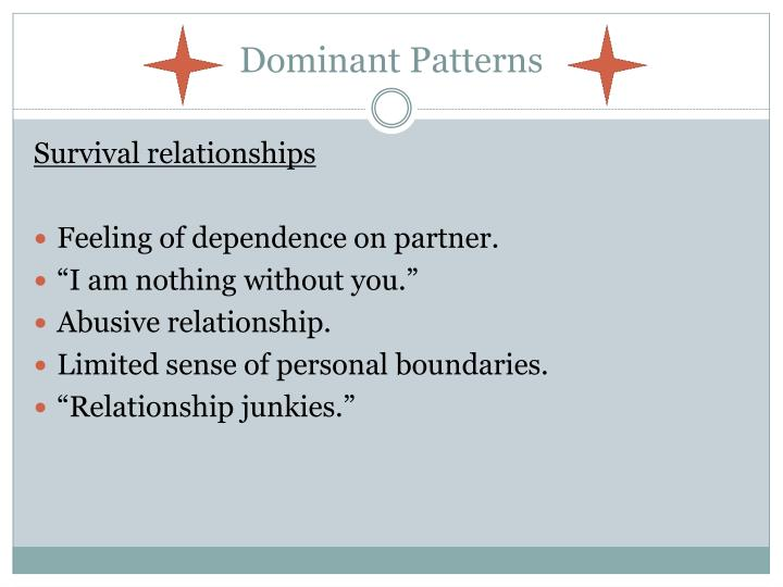 Dominant Patterns