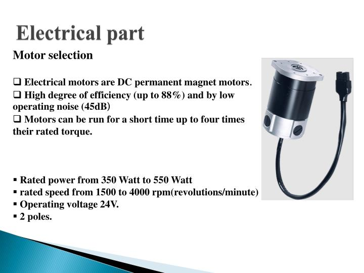 Electrical part