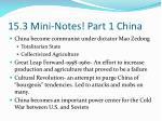 15 3 mini notes part 1 china