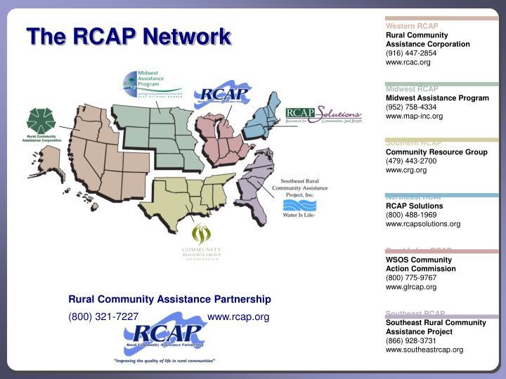 The RCAP Network