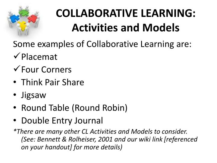 COLLABORATIVE LEARNING: