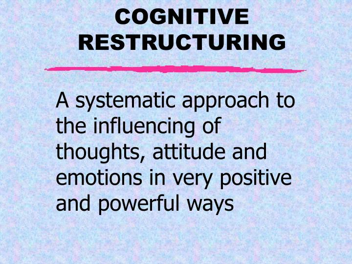 A systematic approach to the influencing of thoughts, attitude and emotions in very positive and powerful ways