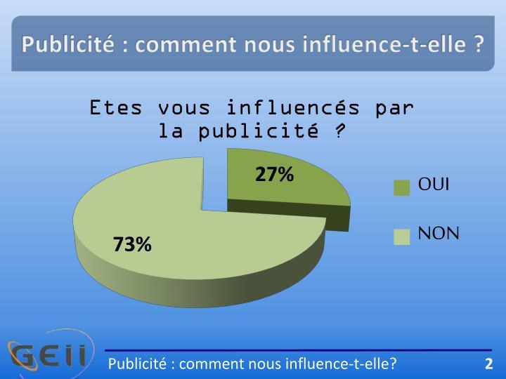 Publicité : comment nous influence-t-elle ?
