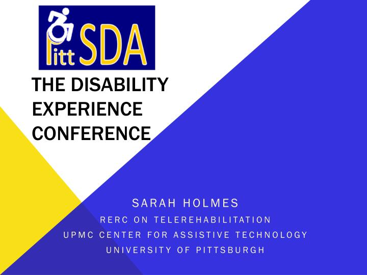 the disability experience conference n.