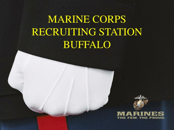 ppt - marine corps recruiting station buffalo powerpoint, Modern powerpoint