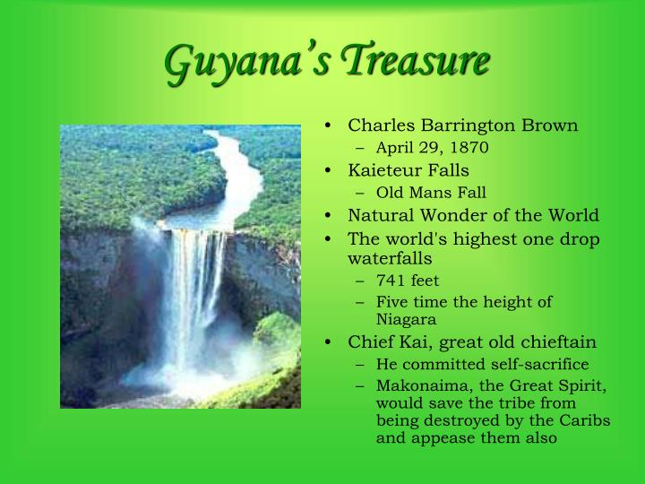 Guyana's Treasure