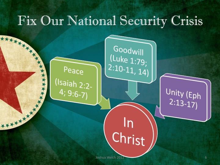 Fix Our National Security Crisis