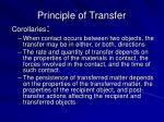 principle of transfer1