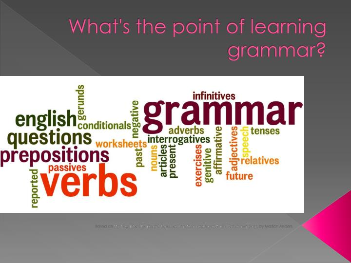 question and grammar point
