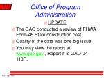 office of program administration1