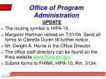 office of program administration2