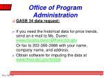 office of program administration3