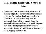 iii some different views of ethics3