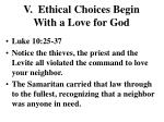 v ethical choices begin with a love for god4