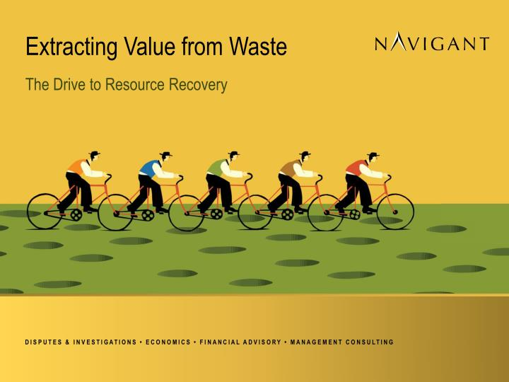 extracting value from waste n.