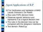 agent applications of ilp1