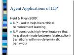 agent applications of ilp2