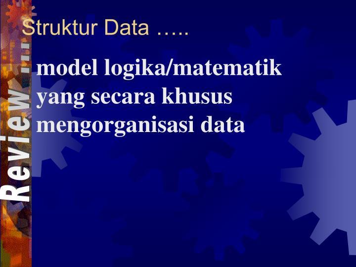 Struktur Data …..