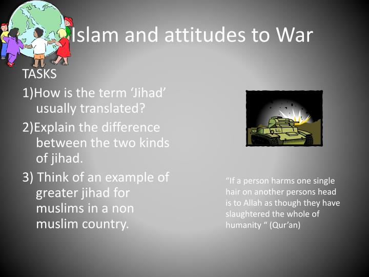 Islam and attitudes to war
