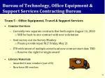 bureau of technology office equipment support services contracting bureau2