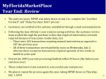myfloridamarketplace year end review