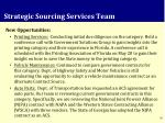 strategic sourcing services team1