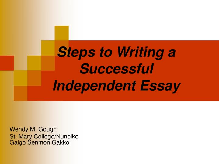 steps to writing a successful essay Need to write a persuasive speech and deliver it to an writing a great argumentative essay writing a successful essay intro how to write a persuasive speech.