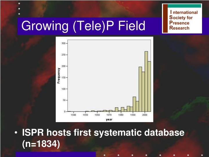 Growing (Tele)P Field