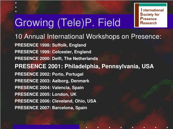 Growing (Tele)P. Field