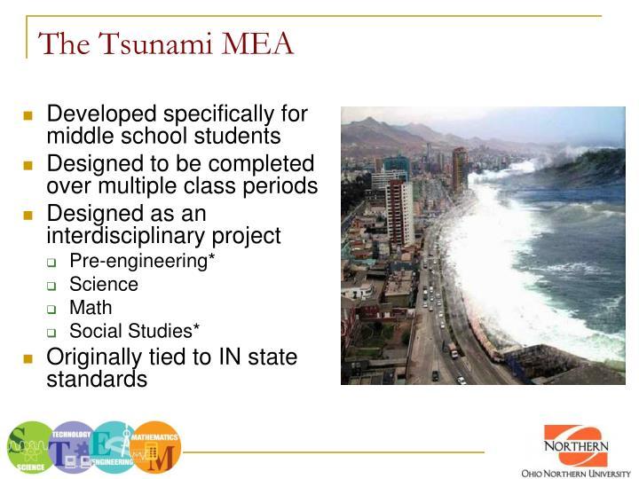 The Tsunami MEA