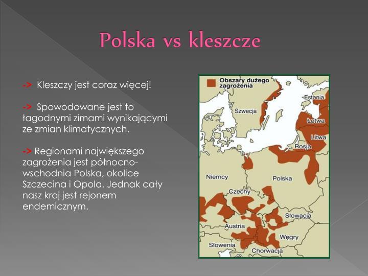 Polska vs kleszcze