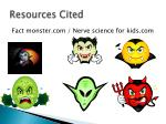 resources cited