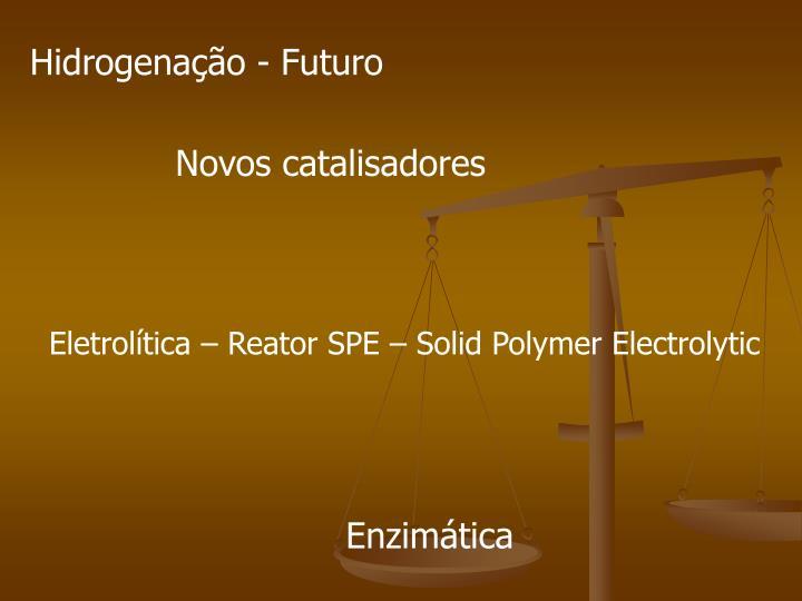 Hidrogenação - Futuro