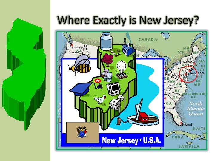 Where exactly is new jersey