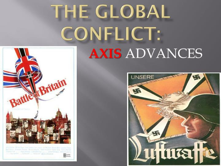the global conflict n.