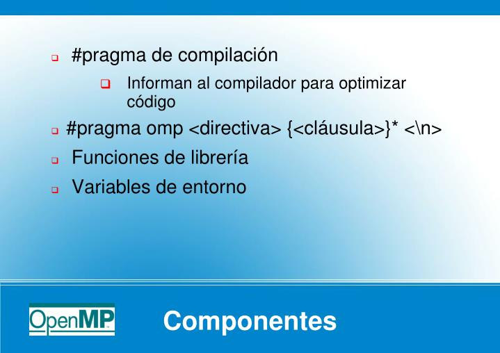 #pragma de compilación
