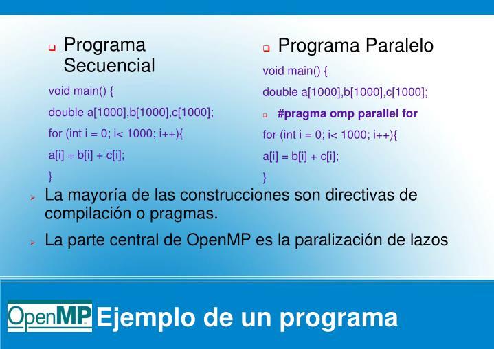 Programa Paralelo