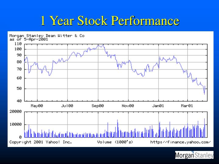 1 Year Stock Performance