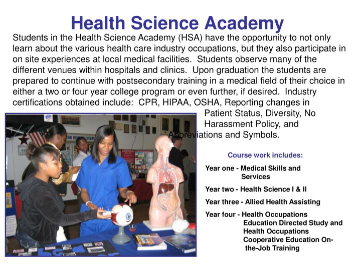 Health Science Academy