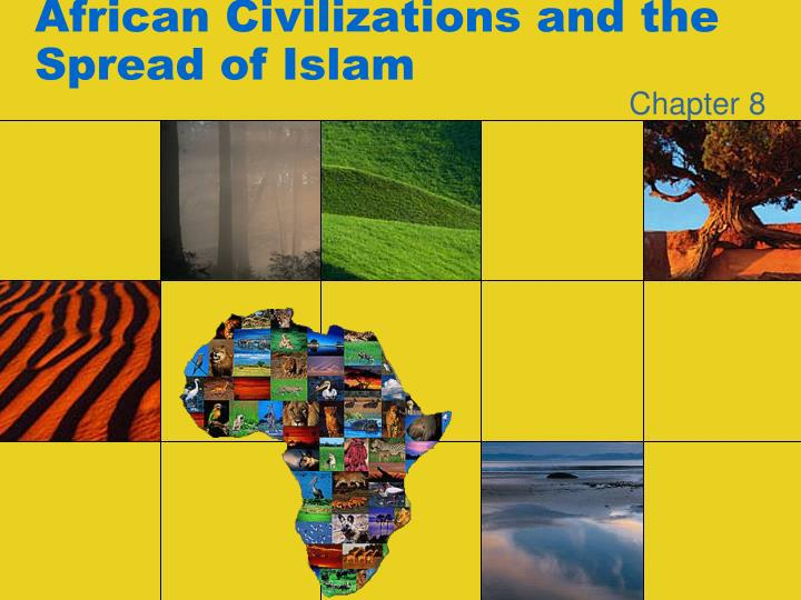 african civilizations and the spread of islam n.