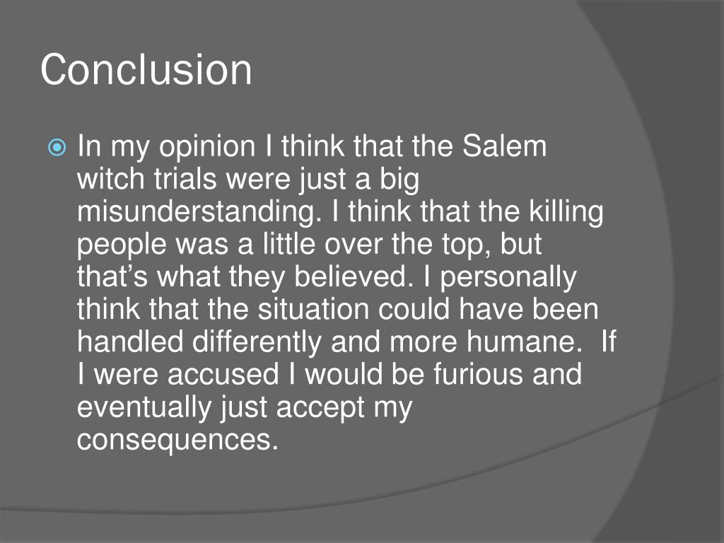 PPT - The Salem Witch Trials PowerPoint Presentation - ID