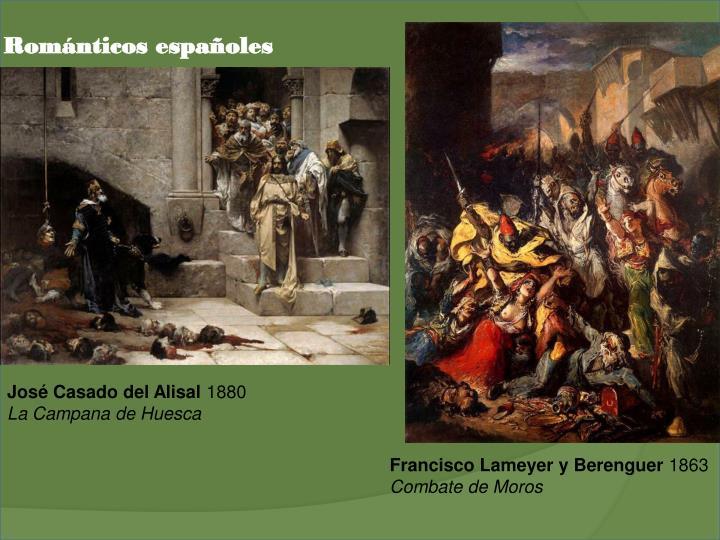 Románticos españoles