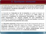 4 quelques analyses