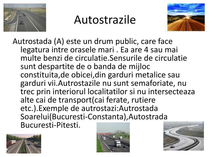 Autostrazile