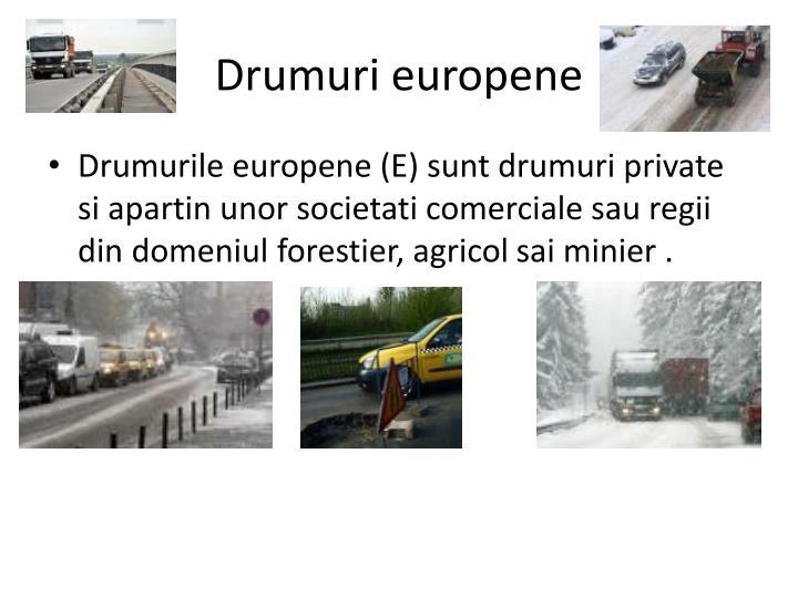 Drumuri europene