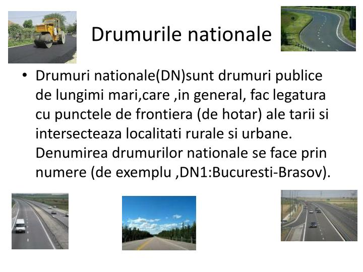 Drumurile