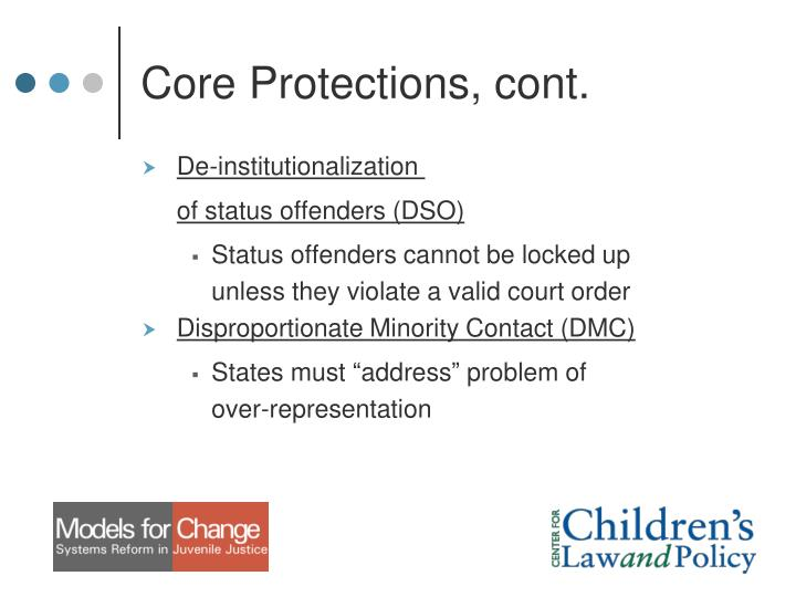 Core Protections, cont.